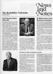 NEWS AND NOTES 1988, VOL.20, NO.1 by The Rockefeller University