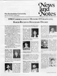 NEWS AND NOTES 1990, SPECIAL SUMMER ISSUE