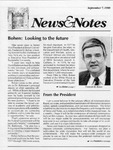 NEWS AND NOTES 1990, SEPTEMBER 7
