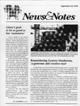 NEWS AND NOTES 1990, SEPTEMBER 28 by The Rockefeller University