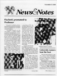 NEWS AND NOTES 1990, NOVEMBER 9 by The Rockefeller University