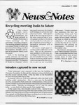 NEWS AND NOTES 1990, DECEMBER 7 by The Rockefeller University
