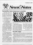 NEWS AND NOTES 1990, DECEMBER 14 by The Rockefeller University