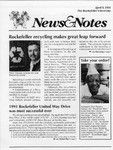 NEWS AND NOTES 1991, APRIL 5 by The Rockefeller University