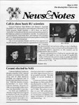 NEWS AND NOTES 1991, MAY 3 by The Rockefeller University
