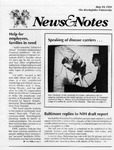 NEWS AND NOTES 1991, MAY 10 by The Rockefeller University