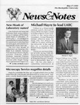 NEWS AND NOTES 1991, MAY 17 by The Rockefeller University