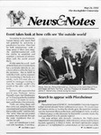 NEWS AND NOTES 1991, MAY 24 by The Rockefeller University