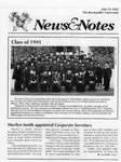 NEWS AND NOTES 1991, JULY 19 by The Rockefeller University