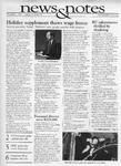NEWS AND NOTES 1991, NOVEMBER 1 by The Rockefeller University
