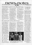 NEWS AND NOTES 1993, VOL.3, NO.29 by The Rockefeller University