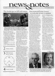 NEWS AND NOTES 1995, VOL.6, NO.9 by The Rockefeller University