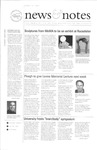 NEWS AND NOTES 2001, APRIL 6 by The Rockefeller University