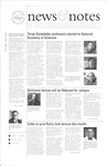 NEWS AND NOTES 2001, MAY 4 by The Rockefeller University