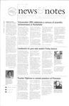 NEWS AND NOTES 2001, MAY 18