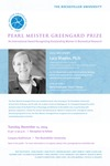 PEARL MEISTER GREENGARD PRIZE by The Rockefeller University