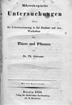 Schwann von, Theodor