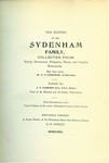 Sydenham, George Francis
