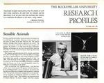 Sensible Animals: [Dr. Donald R. Griffin] by Fulvio Bardossi and Judith N. Schwartz
