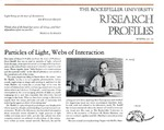 Particles Of Light, Webs Of Interaction: [Dr. Floyd Ratliff] by Fulvio Bardossi and Judith N. Schwartz