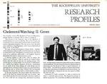 Cholesterol-Watching II: Genes: [Dr. Jan L. Breslow] by Fulvio Bardossi and Judith N. Schwartz