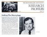 Stalking The Macrophage: [Dr. Zanvil A. Cohn]