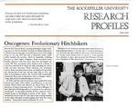 Oncogenes: Evolutionary Hitchhikers: [Dr. Hidesaburo Hanafusa] by Fulvio Bardossi and Judith N. Schwartz