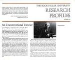 An Unconventional Traveler: [Dr. Christian de Duve] by Fulvio Bardossi and Judith N. Schwartz