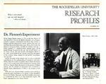 Dr. Flexner's Experiment: [Dr. Simon Flexner] by M. S. Kaplan
