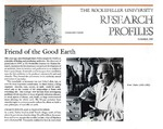 Friend of the Good Earth: [Dr. René Dubos] by Carol L. Moberg