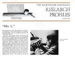 """Mrs. L."" : [Dr. Rebecca Lancefield] by Judith N. Schwartz"