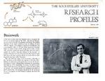 Brainwork: [Dr. Donald W. Pfaff] by Fulvio Bardossi