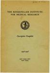 DESCRIPTIVE PAMPHLET, 1946-1948