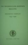 DESCRIPTIVE PAMPHLET, 1957-1958 by The Rockefeller University