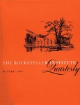 The Rockefeller Institute Quarterly 1959, vol. 2, no. 4