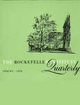 The Rockefeller Institute Quarterly 1959, vol. 3, no. 1 by The Rockefeller University