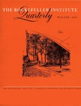 The Rockefeller Institute Quarterly 1961, vol. 4, no. 4 by The Rockefeller University