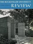 The Rockefeller University Review 1965, vol. 3, no. 5