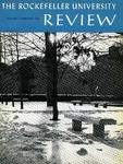 The Rockefeller University Review 1966, vol. 4, no. 1