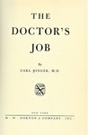 Binger, C. The doctor's job by The Rockefeller University