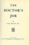 Binger, C. The doctor's job