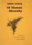 Dubos, R. Of human diversity