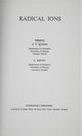 Kaiser, E. Radical ions