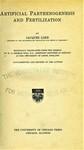 Loeb, J. Artificial parthenogenesis and fertilization