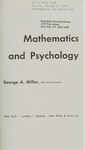 Miller, G. Mathematics and psychology