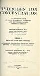 Michaelis, L. Hydrogen ion concentration
