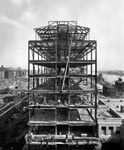 Construction of North Laboratory, 1929 by The Rockefeller University