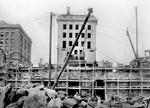 Flexner Hall construction by The Rockefeller University
