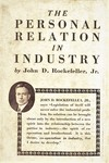 The Personal Relation in Industry