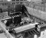 Construction site. View no. 25, November 1968 by The Rockefeller University
